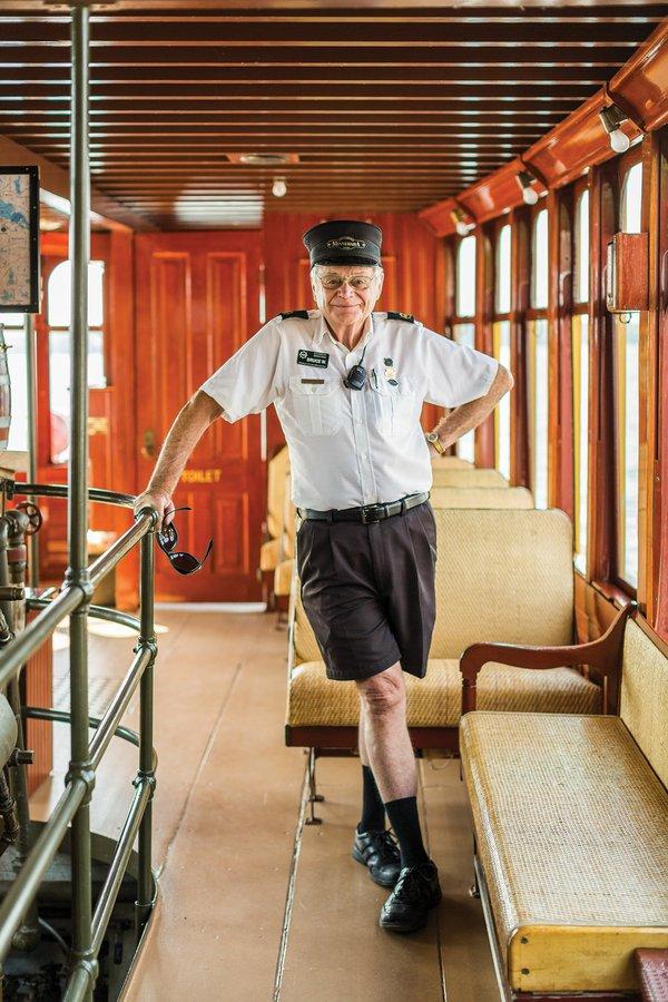 Steamboat Minnehaha Captain