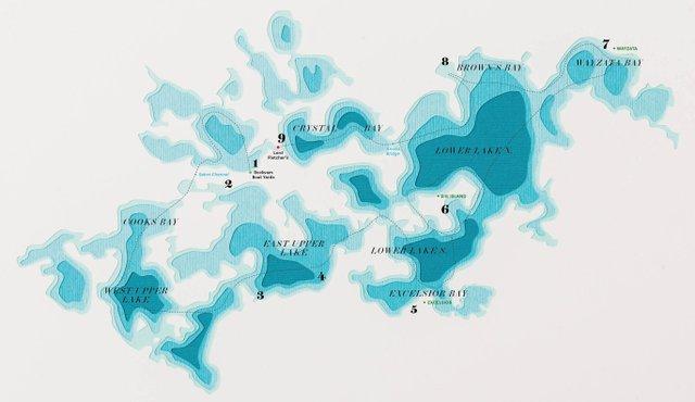 Lake Minnetonka map