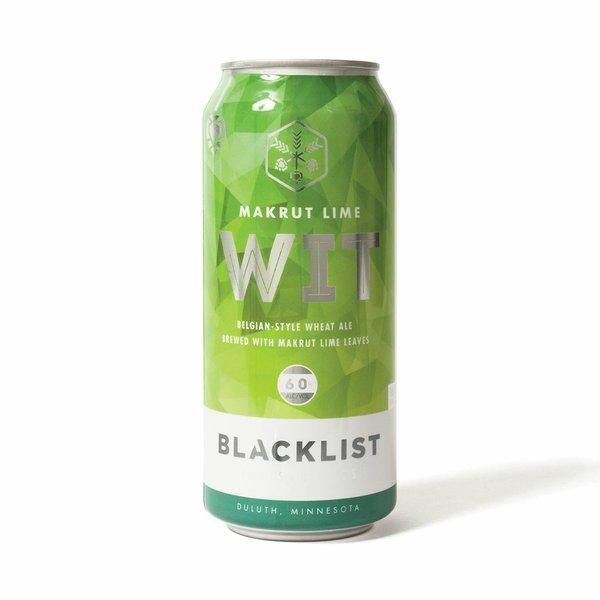 <strong>Makrut Lime Wit Belgian</strong> | <em>wheat ale with makrut lime leaves</em> | Blacklist Artisan Ales