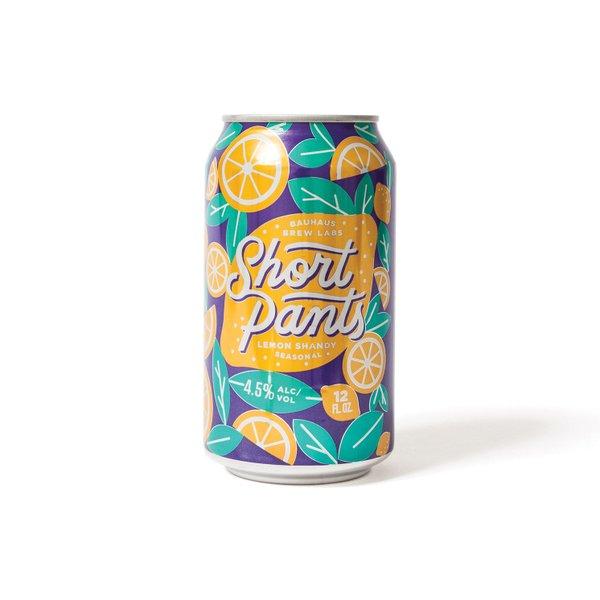 <strong>Short Pants</strong> | <em>lemon shandy</em> | Bauhaus Brew Labs