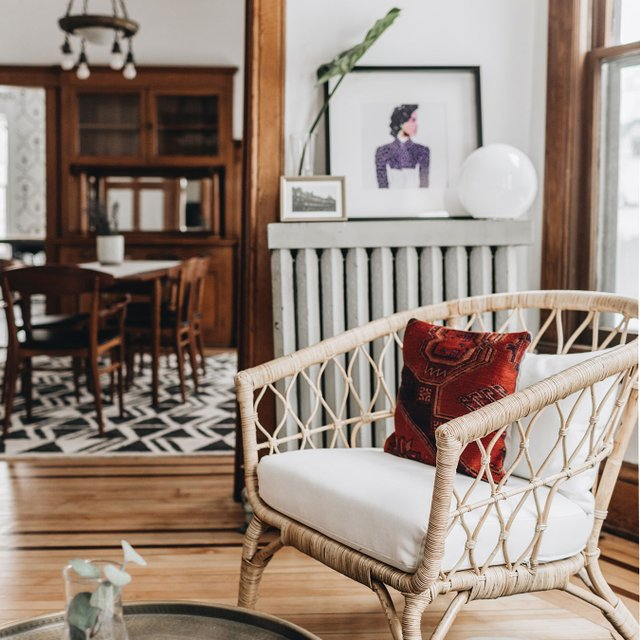 Wit and Delight designed Airbnb in Minneapolis