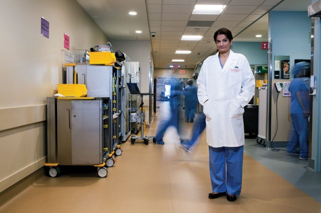 Dr Uzma Samadani of Hennepin Health