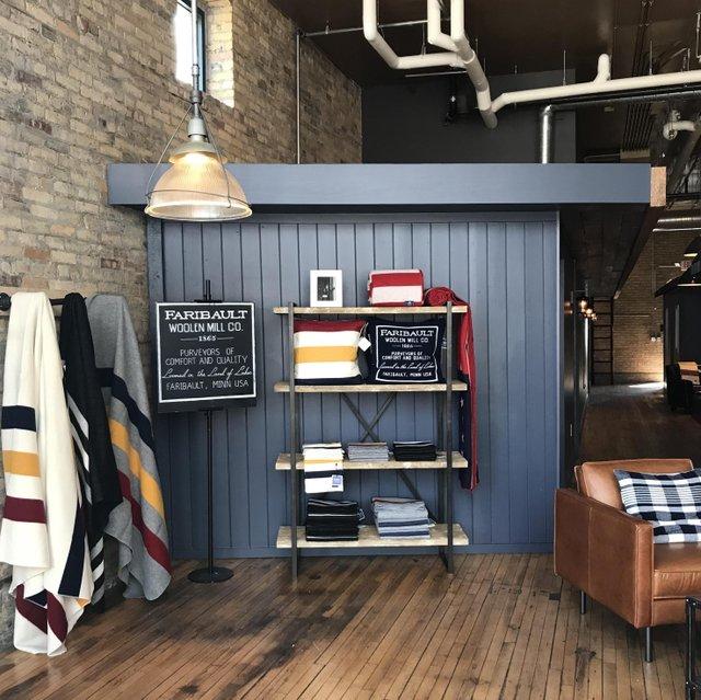 Faribault Woolen Mills Minneapolis store