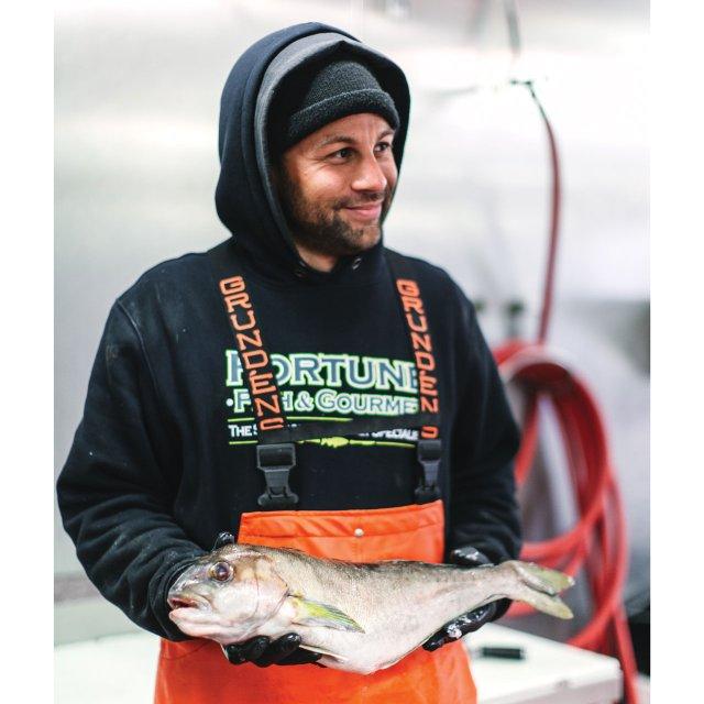 Jonathan Vaughn of Fortune Fish & Gourmet