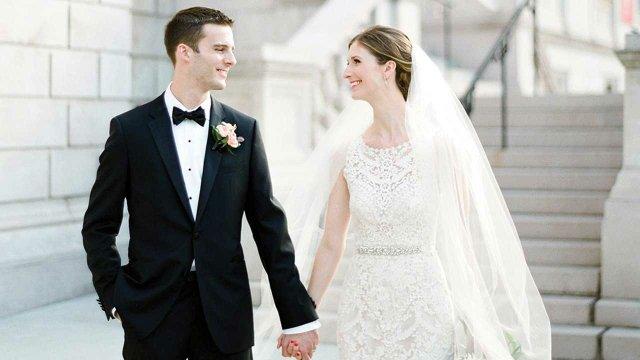 Real wedding Katie and Ben