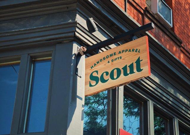 Scout shop