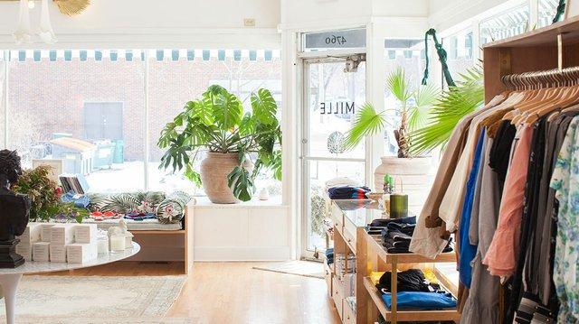 Mille shop interior