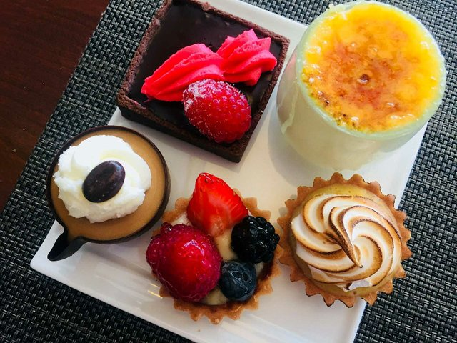 Desserts at Lela Brunch