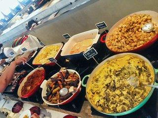 Brunch buffet at Lela