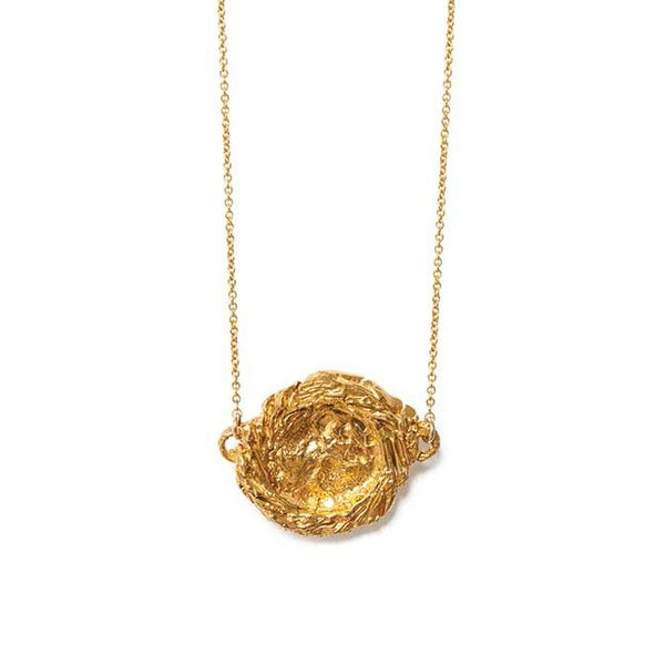 <strong>La Fortuna necklace</strong> ($264), by Alighieri, also from Mille