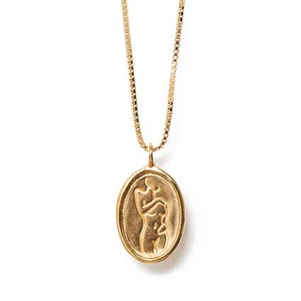 <strong>Femme pendant</strong> ($112), by Wolf Circus, also from Parc Boutique