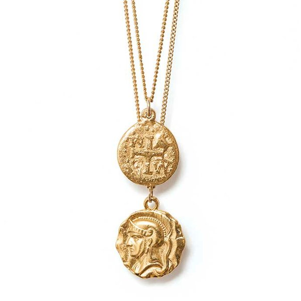 <strong>Warrior coin set</strong> ($154), by joolz by Martha Calvo, from Revolve, revolve.com