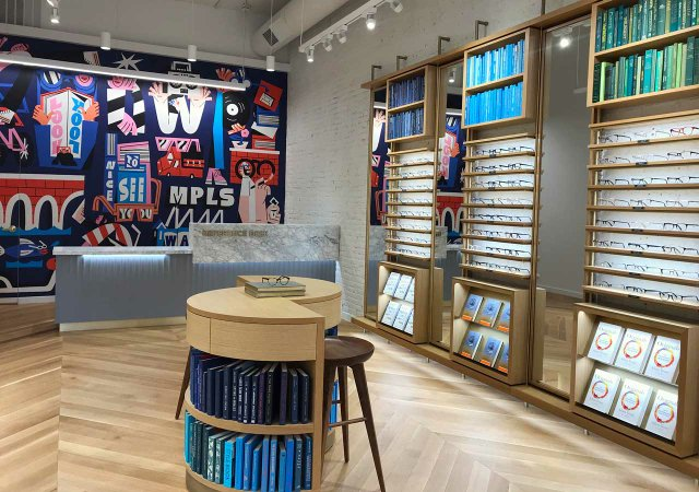 Warby Parker in North Loop Minneapolis