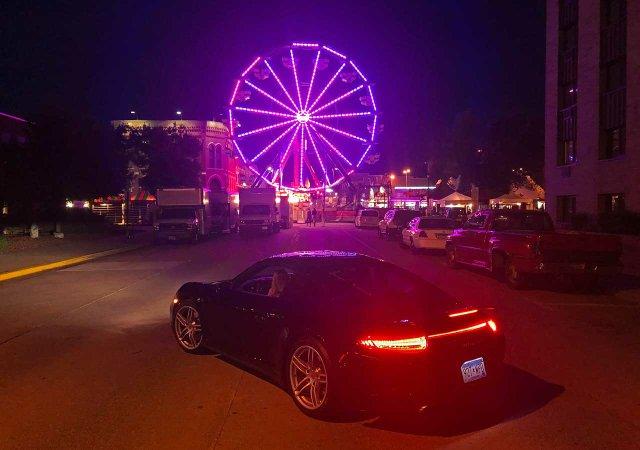 Writer Steve Marsh takes Porsche 911 to Winona, MN