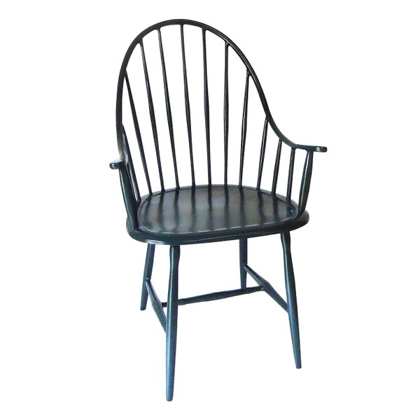 Blue ombre chair