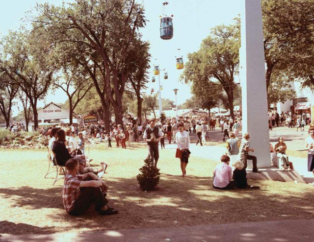 State Fair Skyride in 1964