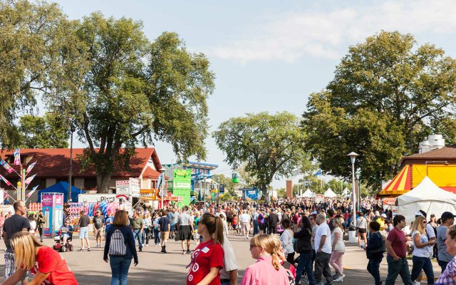 Crowd at the Minnesota State Fair - State Fair Daily image