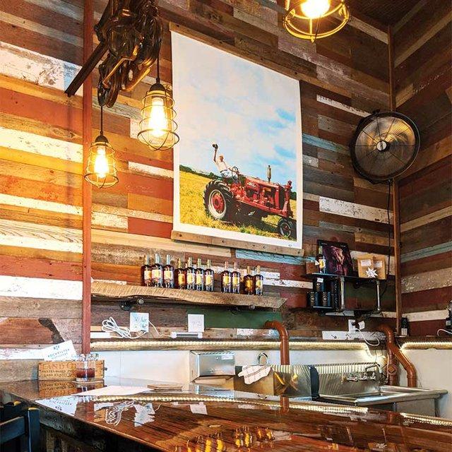 RockFilter Distillery tasting room