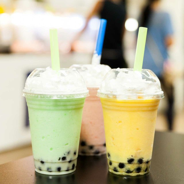 Bubble tea at Hmongtown Marketplace