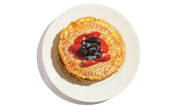 Hell's Kitchen Lemon Ricotta Pancakes