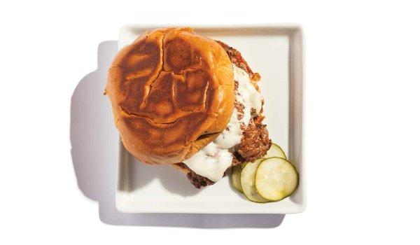 Burger from Parlour Bar