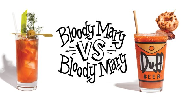 Tattersall bloody mary and Icehouse bloody mary