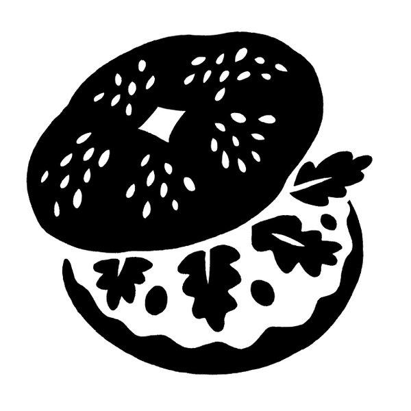 Bagel illustration