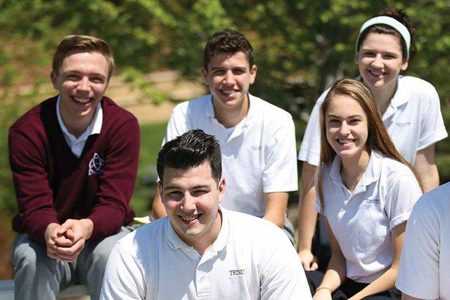 Students at Trinity School at River Ridge