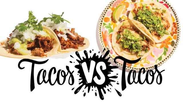 Tacos from Maya Cuisine and Pajarito