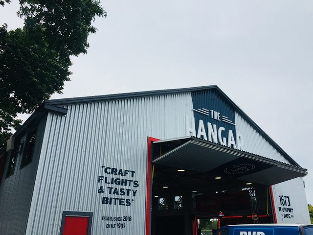 The Hangar at the State Fair