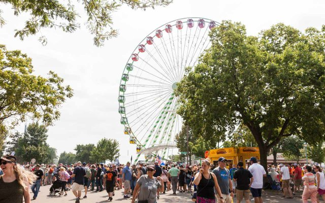 Ferris Wheel at the 2018 Minnesota State Fair