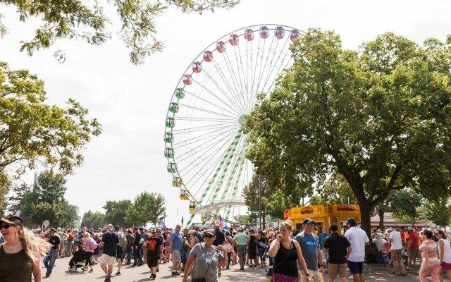 Ferris Wheel at the 2018 Minnesota State Fair