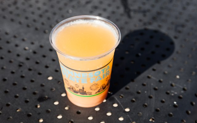 Sociable Cider Werks Bellini at the Minnesota State Fair
