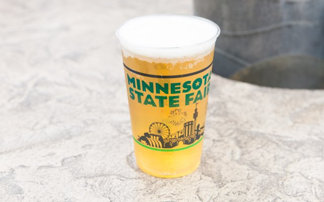 Summit Helles Yeah You Betcha Beer at the Minnesota State Fair