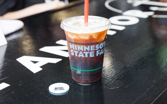 Cold Brew coffee from Anchor Coffee at the Minnesota State Fair
