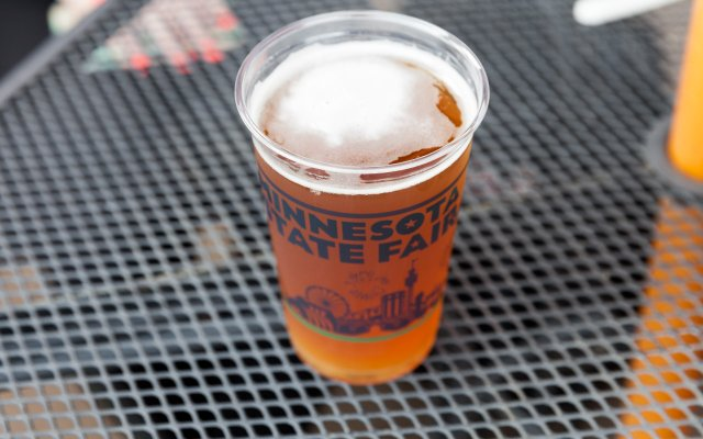 Gaelic Dark and Stormy Beer by Surly Brewing Company at the Minnesota State Fair