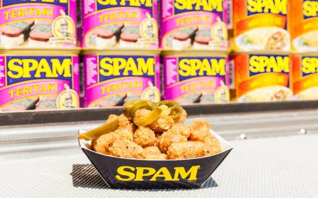 Spam Jalapeno Curds at the Minnesota State Fair
