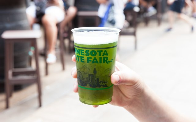 Green Ale from OGaras at the Minnesota State Fair