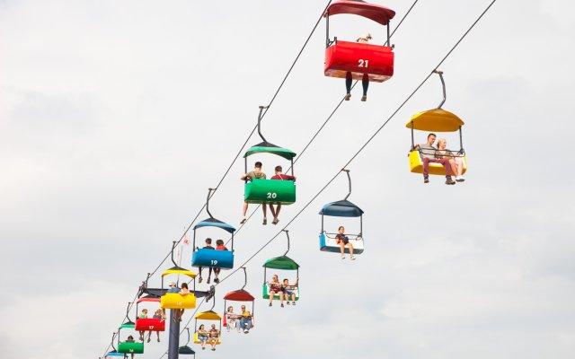 Skyride at the 2018 Minnesota State Fair