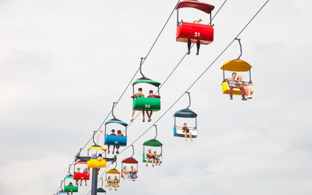 Skyride at the 2018 Minnesota State Fair