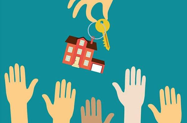 home buyers illustration