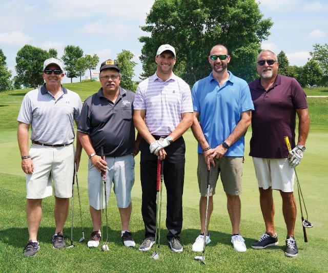 Vikings Quarterback Kirk Cousins at Mystic Lake Golf Course