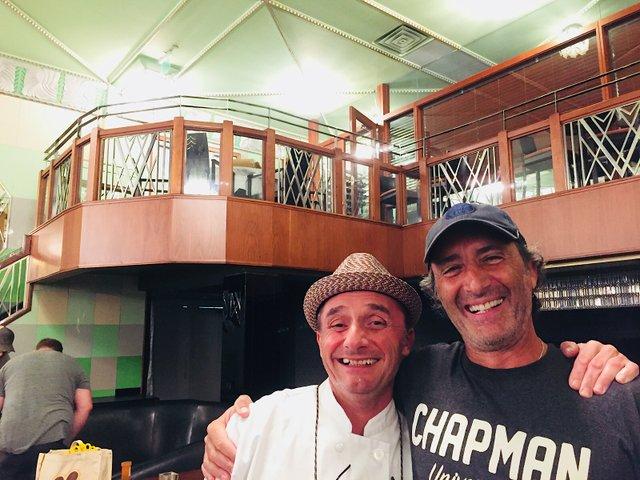 Patrick Atanalian and David Fhima from new Fhima's