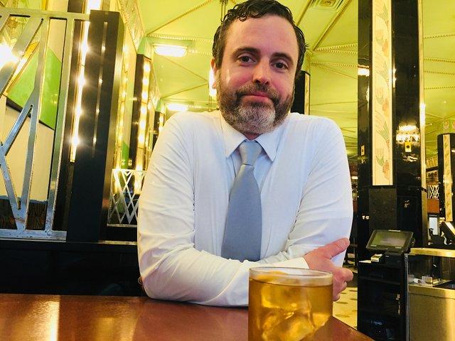 Shawn Jones, head bartender of new Fhima's