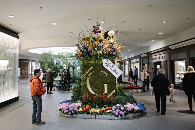 Galleria and Bachman's Floral Experience