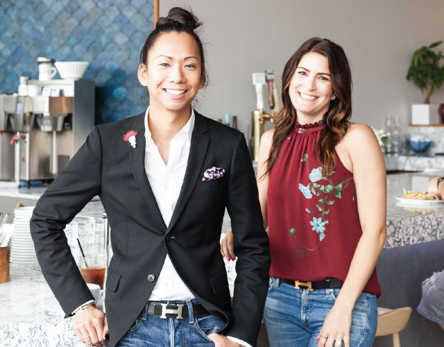 Anthony Chow and Jessica Bergsten, co-founders of Tastemakers, Etc.