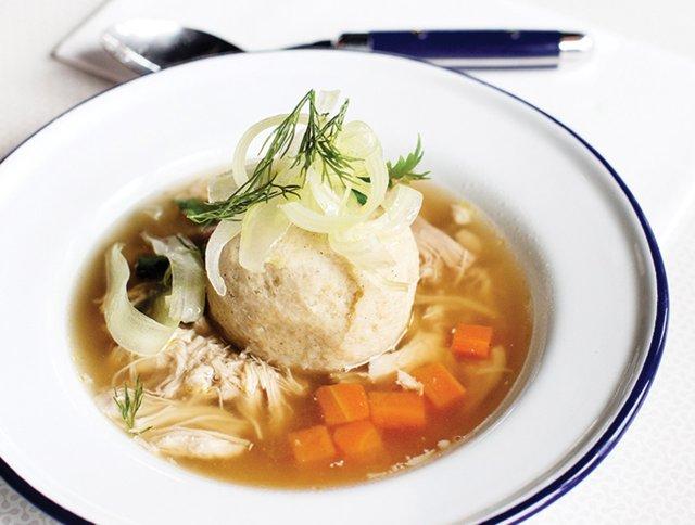 Soup at Meyvn