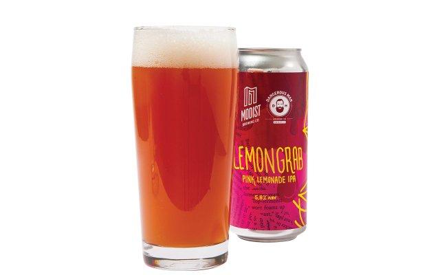 Lemongrab beer