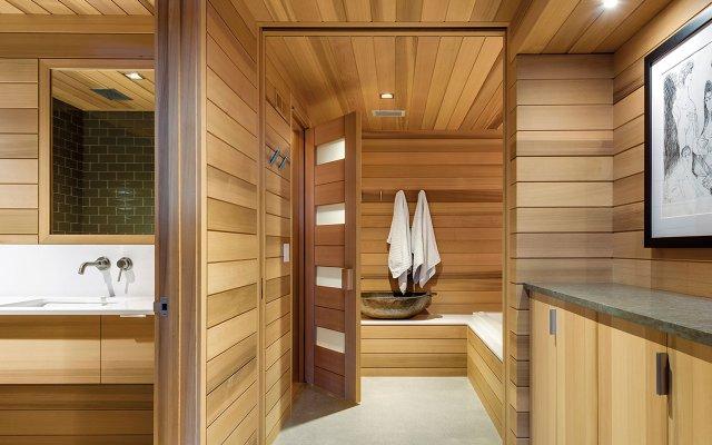 Rehkamp Larson Architects remodeled bathroom