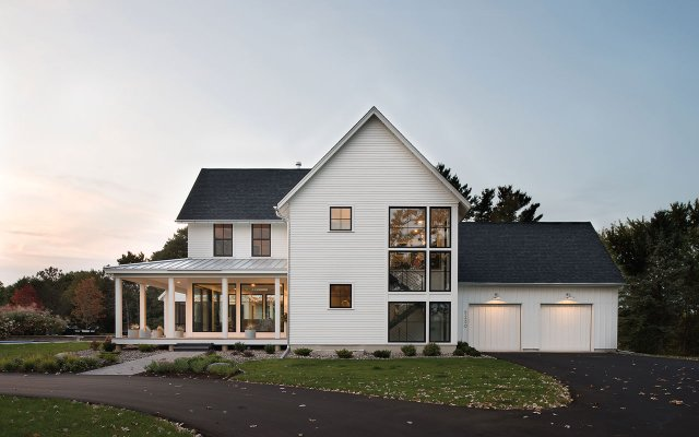 Rehkamp Larson Architects remodeled home exterior